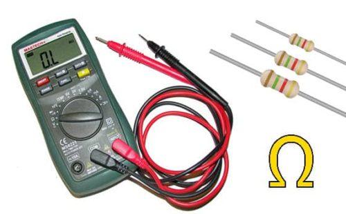 وحدة قياس المقاومة الكهربائية